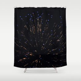 Marina Fireworks 2018 view 3 Shower Curtain