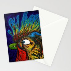 Rooster, Gnarley Stationery Cards