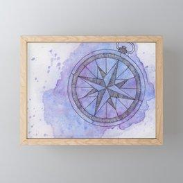 Find Me in the universe Framed Mini Art Print