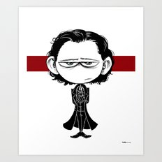 Little Sir Thomas Sharpe Art Print