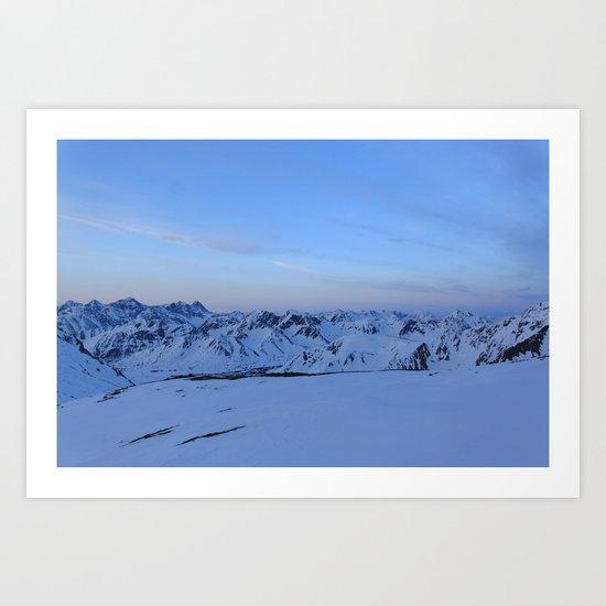 Glen Alps 2 Art Print