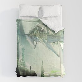 Waiting for the last launch Comforters
