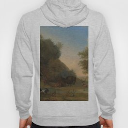 Orpheus and the Animals - Paulus Potter (1650) Hoody