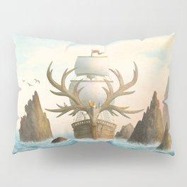 The Antlered Ship - Jacket Pillow Sham