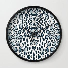 SNOW LEOPARD Wall Clock