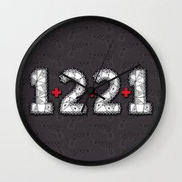 Clue Wall Clock