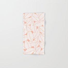 Leaves in Creamsicle Hand & Bath Towel