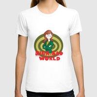 daria T-shirts featuring Daria by Manu Cafferini