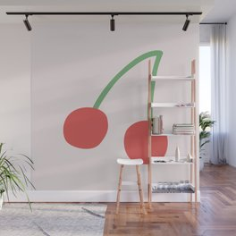 Cherries Wall Mural