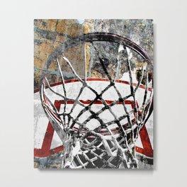 Basketball art swoosh vs 24 Metal Print