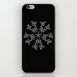 Five Pointed Star Series #5 iPhone Skin