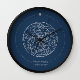 Doctor Who: Wibbly Wobbly Wall Clock