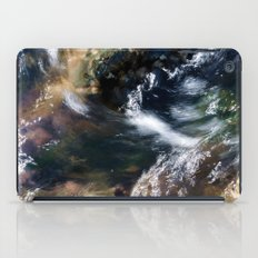 Water Flowing Over the Rocky Shallows iPad Case