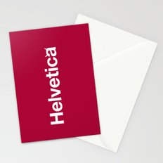 Hell-vetica Stationery Cards