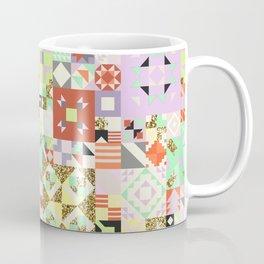 Geometric Quilt Pattern Coffee Mug
