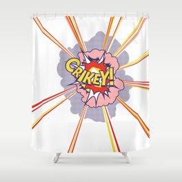 Crikey Roy! Shower Curtain