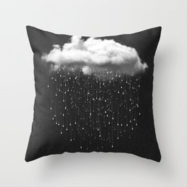 Let It Fall III Throw Pillow