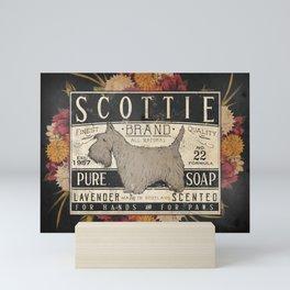 Scottie Scottish Terrier Dog Soap Label Mini Art Print