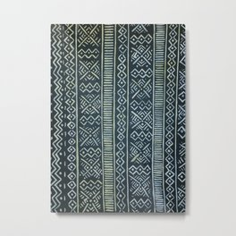 Mud Cloth  Metal Print