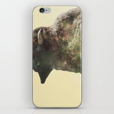 Surreal Buffalo iPhone & iPod Skin