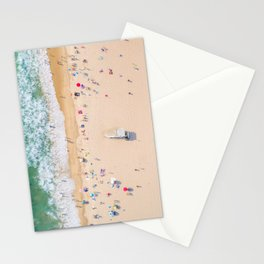 Beach Aerial Stationery Cards