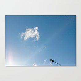 Cloud, sky Canvas Print