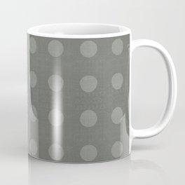 """Dots Elephant Grey"" Coffee Mug"