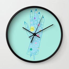 Higher - Illustration Wall Clock