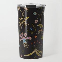 Flora of Planet Hinterland Travel Mug
