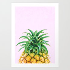 Pineapple Minimalist Art Print