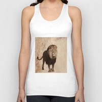 lion Tank Tops featuring Lion by haroulita