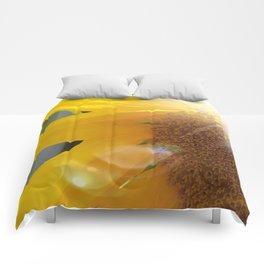 Bright Sunny Sunflower Comforters