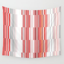 House 8 New Lines Wall Tapestry