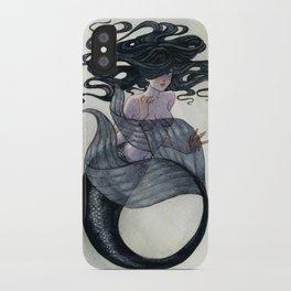 Black Mermaid iPhone Case