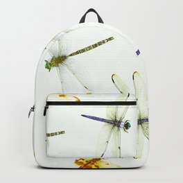Dragonfly Pattern Backpack
