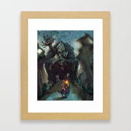 Mountain Troll Framed Art Print