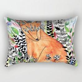 Tatoo fox Rectangular Pillow