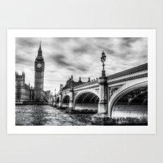 Westminster Bridge London Art Print