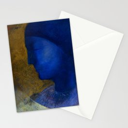 "Odilon Redon ""The Golden Cell"" Stationery Cards"