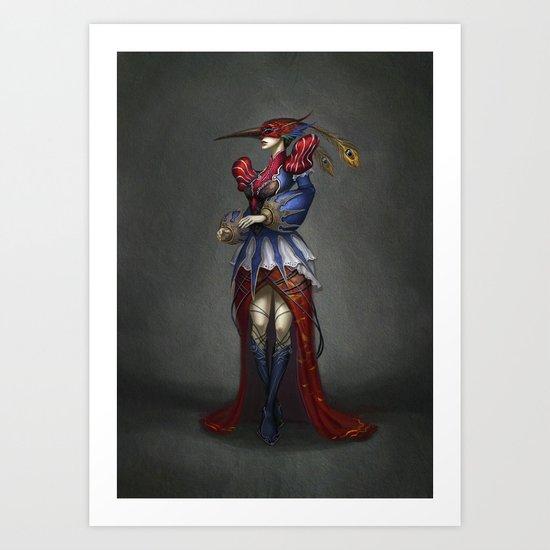 The Courtier Art Print