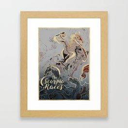 The Scorpio Races - I Will Ride Framed Art Print