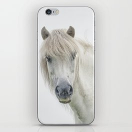 Horse eyes look at you iPhone Skin