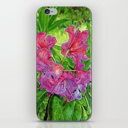 Pink Rhodo iPhone Skin