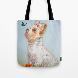 Jazzy and Miss Butterfly Tote Bag