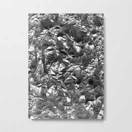 Silver Crush Metal Print