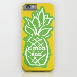 C'mon son iPhone Case