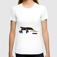 audi T-shirts featuring 205 T16 by Cale Funderburk