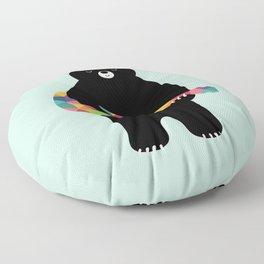 Happy Song Floor Pillow