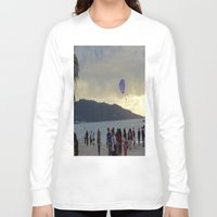 thailand Long Sleeve T-shirts featuring Thailand Sunset by ENGINEMAN - JOSEPHAMT