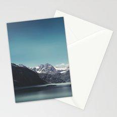 turquoise mountain lake Stationery Cards
